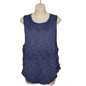 Lululemon Var-City Tank Heathered Hero Blue